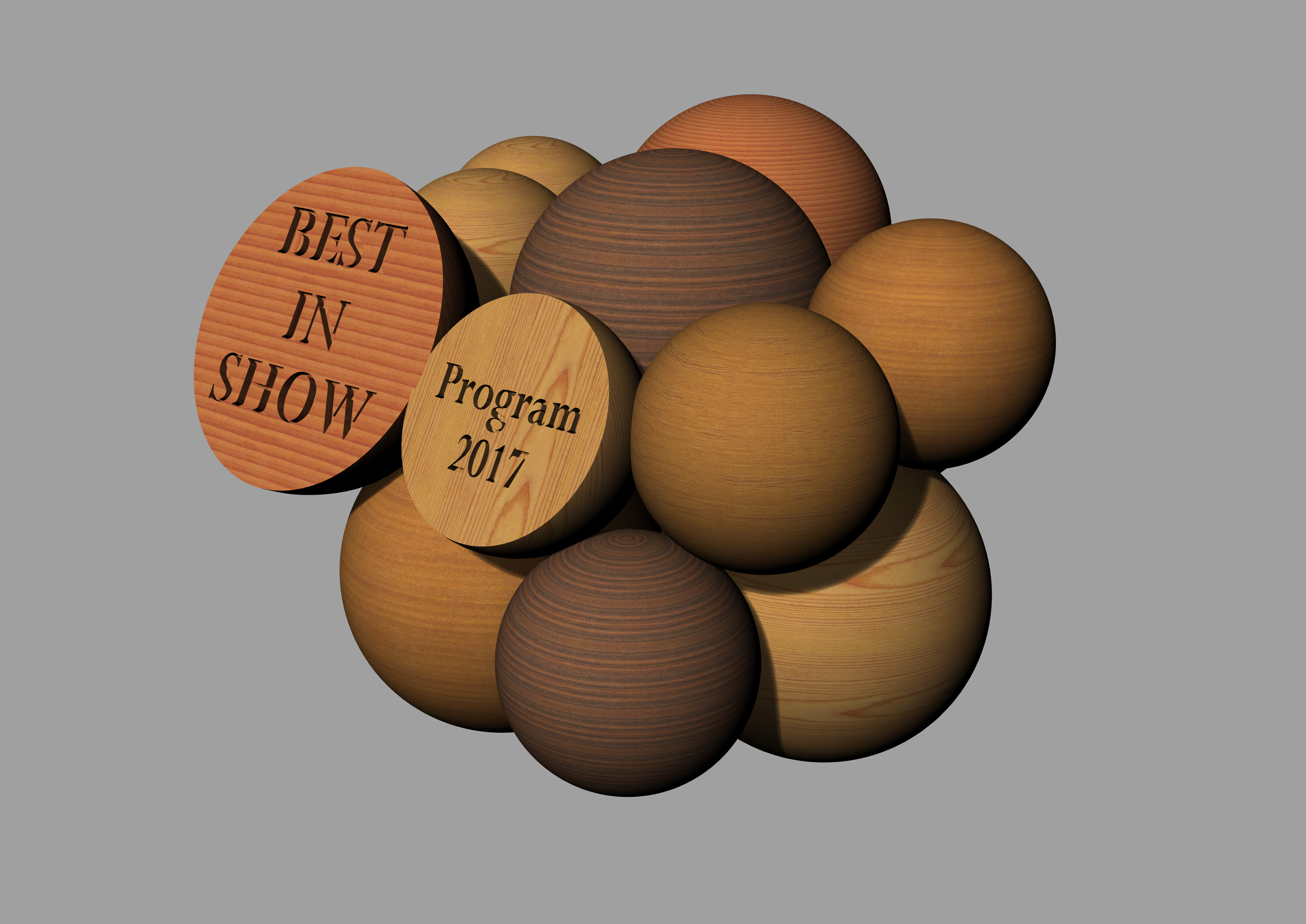 Awards rendering front angle